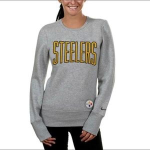 Nike Pittsburgh Steelers Ladies Sweatshirt Sz M
